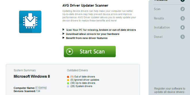AVG Driver Updater 2.4.0 Review 2019