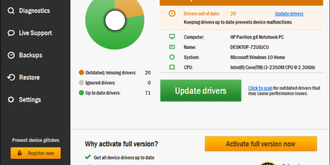 TweakBit Driver Updater 2.0.1.11 Review 2019