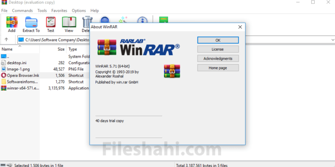 WinRAR 5.71 Review 2019