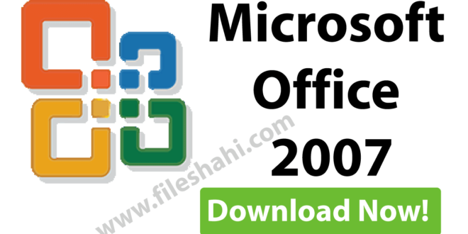 Microsoft Office 2007 Review in 2021